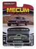 "1968 Ford Mustang GT ""Bullitt"" (Kissimmee 2020 Lot) Mecum Auctions Series 5 1:64 Scale Mecum Auctions, 1:64 Scale"