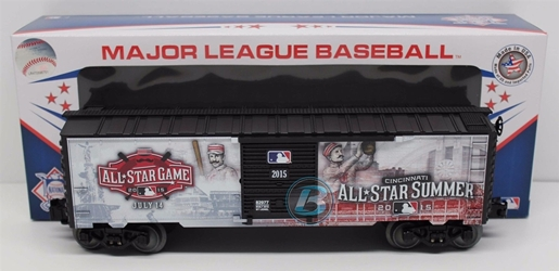 2015 Major League Baseball All Star Boxcar Kansas City Royals nascar diecast, diecast collectibles, nascar collectibles, nascar apparel, diecast cars, die-cast, racing collectibles, nascar die cast, lionel nascar, lionel diecast, action diecast, university of racing diecast, nhra diecast, nhra die cast, racing collectibles, historical diecast, nascar hat, nascar jacket, nascar shirt