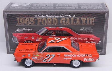 Cale Yarborough #27 Abingdon Motor Co. 1965 Ford Galaxie 1:24 University of Racing Nascar Diecast Cale Yarborough nascar diecast, diecast collectibles, nascar collectibles, nascar apparel, diecast cars, die-cast, racing collectibles, nascar die cast, lionel nascar, lionel diecast, action diecast, university of racing diecast, nhra diecast, nhra die cast, racing collectibles, historical diecast, nascar hat, nascar jacket, nascar shirt,historical racing die cast