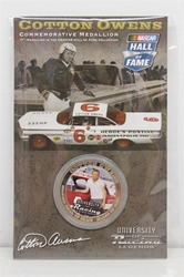 Cotton Owens NASCAR Hall of Fame Commemorative Medallion #17 in Series NASCAR, Hall of Fame, NHOF, Medallion, collector coin,historical racing die cast