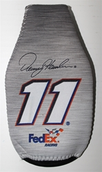 Denny Hamlin # 11 Grey FedEx Bottle Coozie Denny Hamlin nascar diecast, diecast collectibles, nascar collectibles, nascar apparel, diecast cars, die-cast, racing collectibles, nascar die cast, lionel nascar, lionel diecast, action diecast,racing collectibles, historical diecast,coozie,hugger