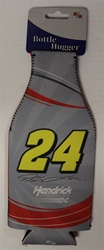 Jeff Gordon # 24 Grey and Red Bottle Coozie Jeff Gordon nascar diecast, diecast collectibles, nascar collectibles, nascar apparel, diecast cars, die-cast, racing collectibles, nascar die cast, lionel nascar, lionel diecast, action diecast,racing collectibles, historical diecast,coozie,hugger