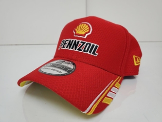 Joey Logano #22 Red Pennzoil New Era Hat Fitted - Different Sizes Available Joey Logano, apparel, hat, 22, Penske