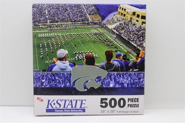 Kansas State University 500 Piece Jigsaw Adult Puzzle Kansas State University 500 Piece Jigsaw Adult Puzzle