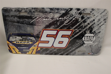 Martin Truex Jr #56 Napa Napa Burnout License Plate Martin Truex Jr,Napa Burnout ,License Plate,R and R Imports,R&R