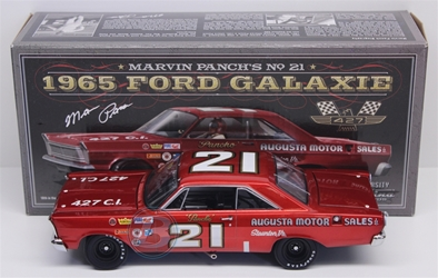 Marvin Panch Autographed #21 Augusta Motor Sales Inc. 1965 Ford Galaxie 1:24 University of Racing Nascar Diecast A.J. Foyt nascar diecast, diecast collectibles, nascar collectibles, nascar apparel, diecast cars, die-cast, racing collectibles, nascar die cast, lionel nascar, lionel diecast, action diecast, university of racing diecast, nhra diecast, nhra die cast, racing collectibles, historical diecast, nascar hat, nascar jacket, nascar shirt,historical racing die cast