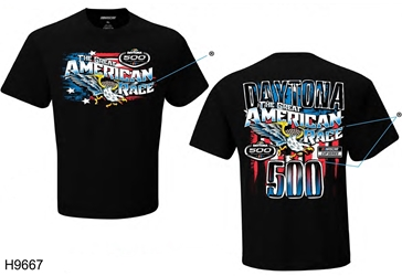 2021 Daytona 500 Great American Race Eagle Tee Daytona 500, Tee, shirt