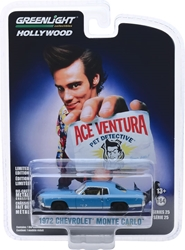 Ace Ventura: Pet Detective (1994) 1:64 1972 Chevrolet Monte Carlo Solid Pack John Wick, Movie Diecast, 1:64 Scale