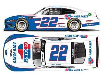 *Preorder* Austin Cindric Autographed 2021 Carquest Auto Parts 1:24 Nascar Diecast Austin Cindric, Nascar Diecast,2021 Nascar Diecast,1:24 Scale Diecast,pre order diecast