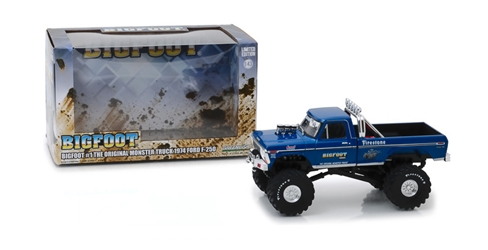Bigfoot #1 The Original Monster Truck (1979) 1:43 1974 Ford F-250 Kings of Crunch Monster Truck Bigfoot, Monster Truck, 1:24 Scale, Kings of Crunch