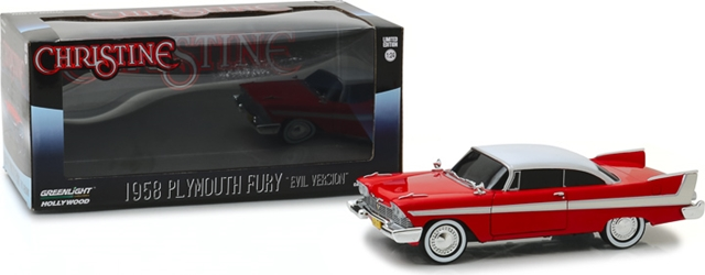 *Preorder* Christine (1983) 1:24 - 1958 Plymouth Fury (Evil Version with Blacked Out Windows) Christine, Movie Diecast, 1:24 Scale, 1958 Plymouth Fury