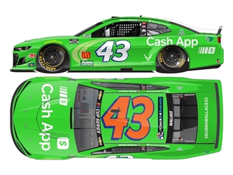 "*Preorder* Darrell ""Bubba"" Wallace Autographed 2020 Cash App 1:24 Color Chrome Nascar Diecast Darrell ""Bubba"" Wallace Nascar Diecast,2020 Nascar Diecast,1:24 Scale Diecast,pre order diecast"
