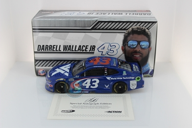 "*Preorder* Darrell ""Bubba"" Wallace Autographed 2020 Wide Technology 30th Anniversary 1:24 Nascar Diecast Darrell ""Bubba"" Wallace Nascar Diecast,2020 Nascar Diecast,1:24 Scale Diecast,pre order diecast"