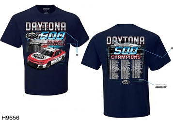 Daytona 500 Past Champs Tee Daytona 500, past champions, Tee, shirt