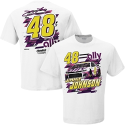 Jimmie Johnson 2020 Ally (Daytona-White) Tee Jimmie Johnson, shirt, nascar playoffs