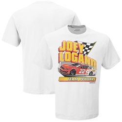 *Preorder* Joey Logano 2020 Shell-Pennzoil Darlington Throwback Tee Joey Logano, shirt, nascar playoffs