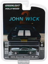 *Preorder* John Wick: Chapter 2 (2017) 1:64 1970 Chevrolet Chevelle SS 396 Solid Pack John Wick, Movie Diecast, 1:64 Scale