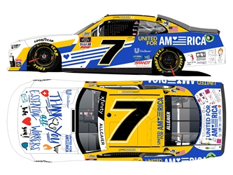 *Preorder* Justin Allgaier Autographed 2020 Unilever United for America 1:24 Nascar Diecast Justin Allgaier, Nascar Diecast,2020 Nascar Diecast,1:24 Scale Diecast, pre order diecast