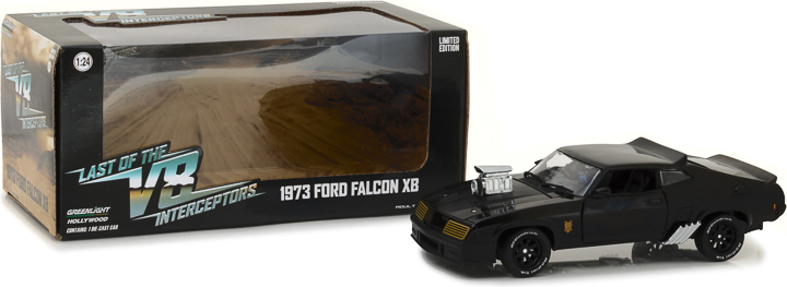 *Preorder* Last of the V8 Interceptors (1979) 1:24 - 1973 Ford Falcon XB Last of Us, Movie Diecast, 1:24 Scale, 1973 Ford Falcon XB