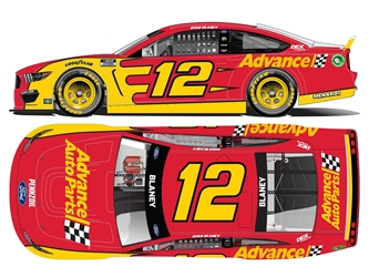 *Preorder* Ryan Blaney 2021 Advance Auto Parts 1:24 Color Chrome Nascar Diecast Ryan Blaney, Nascar Diecast,2021 Nascar Diecast,1:24 Scale Diecast, pre order diecast