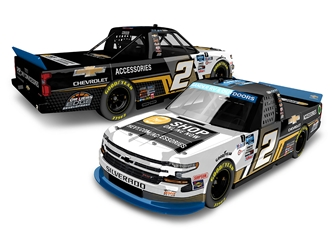 *Preorder* Sheldon Creed Autographed 2020 Chevy Accessories GOTS Champion 1:24 Color Chrome Nascar Diecast Sheldon Creed diecast, 2020 nascar diecast, pre order diecast