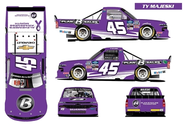 *Preorder* Ty Majeski Autographed 2020 Plan B Sales / Alzheimers Awareness Month 1:24 Nascar Diecast Ty Majeski diecast, 2020 nascar diecast, pre order diecast