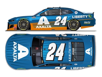 *Preorder* William Byron Autographed 2020 Axalta All-Star 1:24 Nascar Diecast William Byron Nascar Diecast,2020 Nascar Diecast,1:24 Scale Diecast,pre order diecast, 2020 All-Star