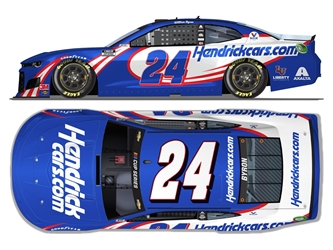 *Preorder* William Byron Autographed 2020 HendrickCars.com 1:24 Nascar Diecast William Byron Nascar Diecast,2020 Nascar Diecast,1:24 Scale Diecast,pre order diecast