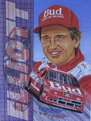 "Set of 10 1992 Sam Bass Posters Of Drivers 15.5"" X 11.5"" Set of 10 1992 Sam Bass Posters Of Drivers 15.5"" X 11.5"""