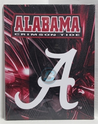 "University of Alabama (1) ""A"" Canvas 11"" x 14"" Wall Hanging collectible canvas, ncaa licensed, officially licensed, collegiate collectible, university of"